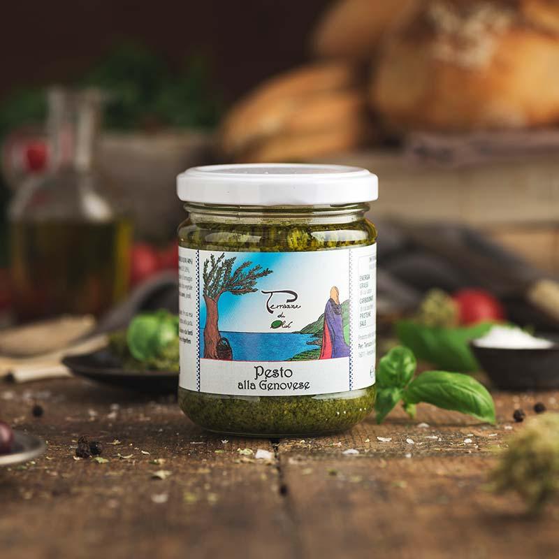 Pesto alla genovese Terrazze di olivi