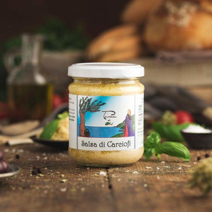 Salsa-di-carciofi-con-olio-extravergine-di-oliva